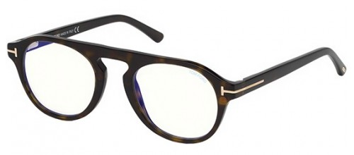 Tom Ford FT 5533-B BLUE BLOCK 52E