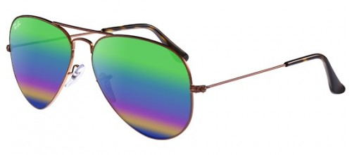 Ray-Ban  AVIATOR LARGE METAL RB 3025 MINERAL LENSES 9018/C3