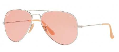 AVIATOR LARGE METAL RB 3025 EVOLVE LENSES