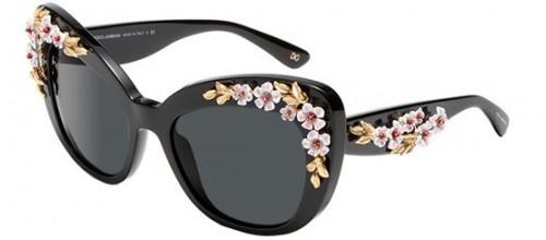 Солнцезащитные очки Dolce & Gabbana ALMOND FLOWERS DG 4230 цвет 501/87H