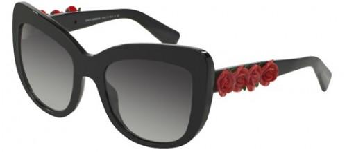 Солнцезащитные очки Dolce & Gabbana SPANISH ROSES DG 4252 цвет 501/8GI