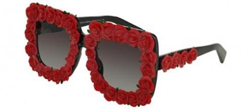 Солнцезащитные очки Dolce & Gabbana SPANISH ROSES DG 4253 цвет 501/8GH