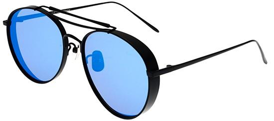 20c13bbdfe0 Gentle Monster BIG BULLY S BLACK BLUE цвет 01 6M - Солнцезащитные ...