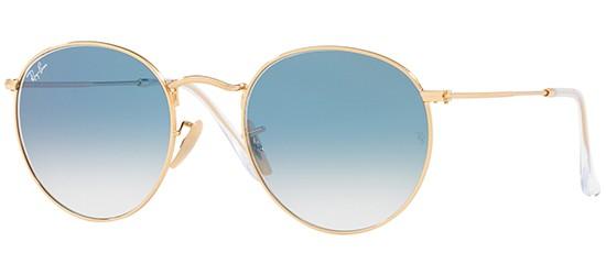 Ray-Ban ROUND METAL RB 3447N цвет 001 3F A - Солнцезащитные очки ... 69f8d66fb54
