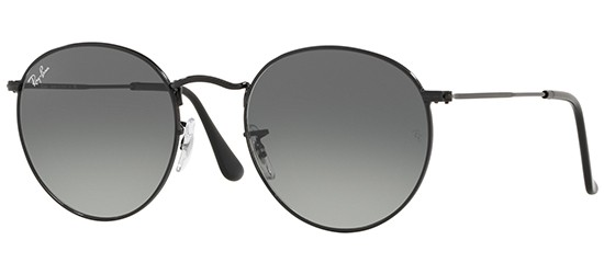 Ray-Ban ROUND METAL RB 3447N цвет 002 71 A - Солнцезащитные очки ... 3514fe47b21